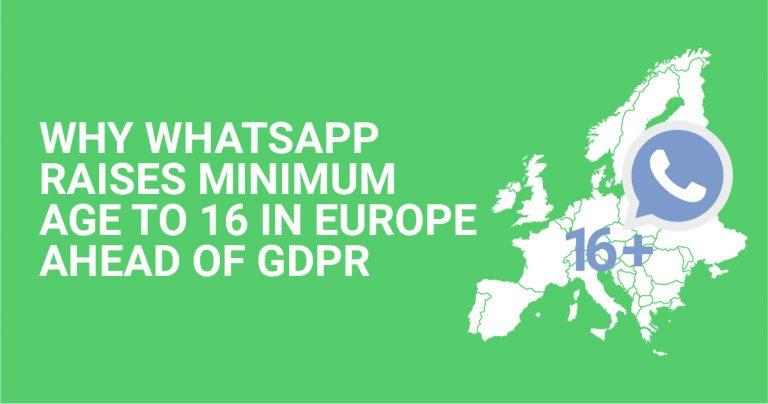 Dlaczego WhatsApp zwiększa minimalny wiek do 16 lat w Europie przed GDPR