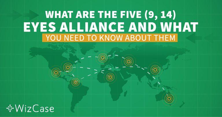 Poznaj zasady działania Sojuszu Pięciu, Dziewięciu i Czternastu Oczu przed wybraniem sieci VPN!