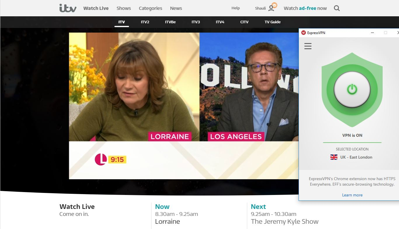 How to watch ITV Hub from Ireland or Outside the UK in 2019