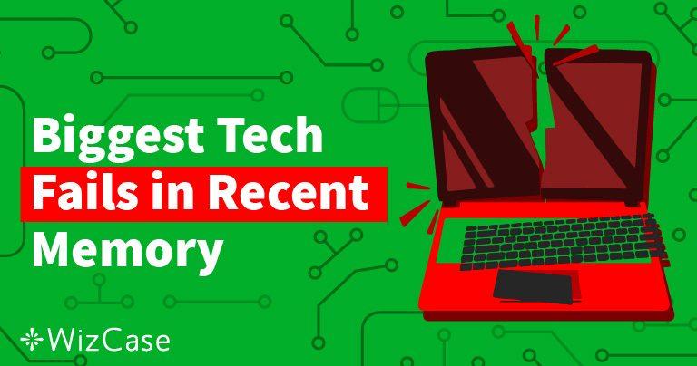 100 największych wpadek technologicznych od 2011 r.