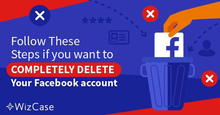 5 kroków, aby usunąć 100% danych z konta na Facebooku