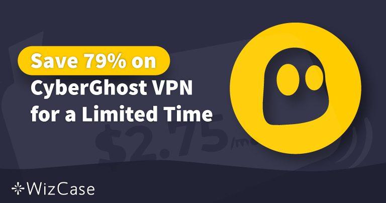 Działający kupon CyberGhost VPN na 2020 rok: zyskaj do 79% zniżki już dziś Wizcase